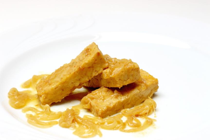 Tempeh con salsa di cocco al curry 2 piccola