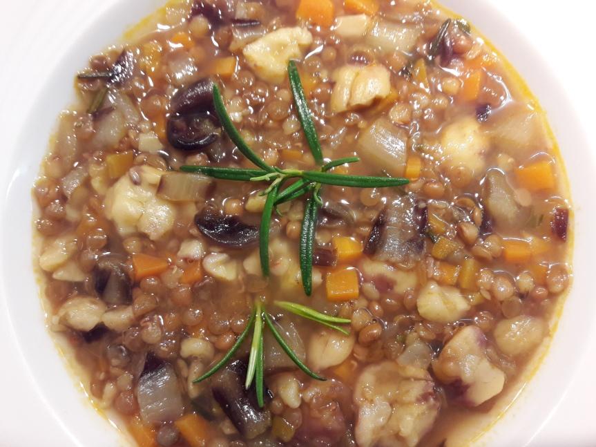 zuppa di lenticchie e castagne 2 orig